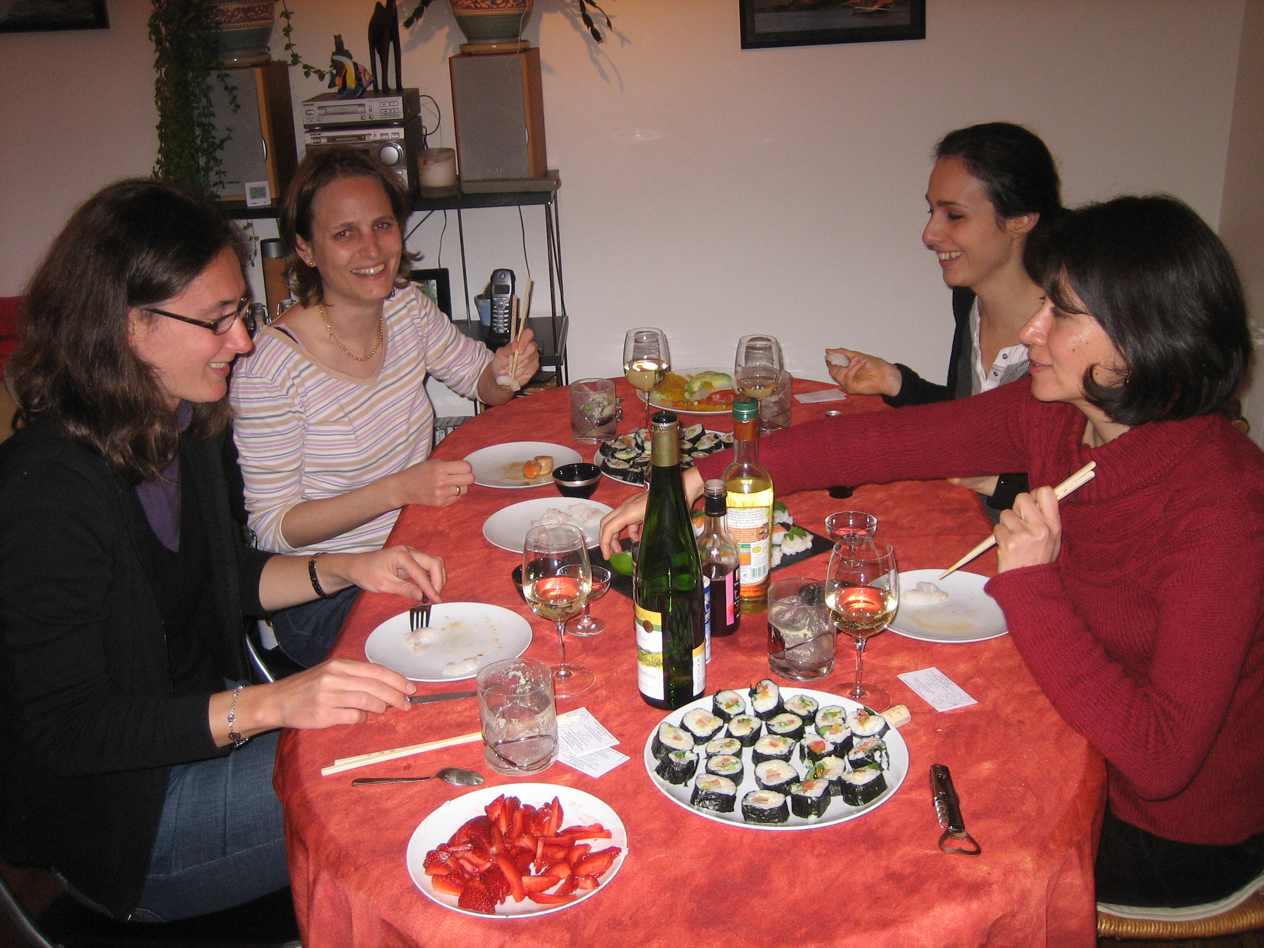 Cours de cuisine japonaise mercredi 7 avril rennes chez - Cours de cuisine rennes ...